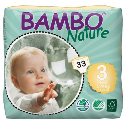 Bambo Nature 3 Midi 5-9kg, 33ks