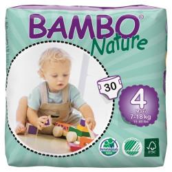 Bambo Nature 4 Maxi 7-18kg, 30ks