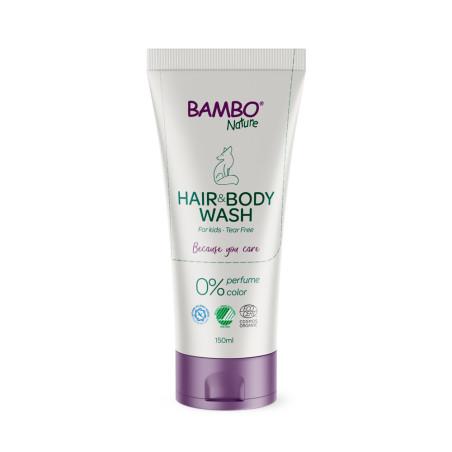Dětský sprchový gel na vlasy a tělo Bambo Nature 150ml