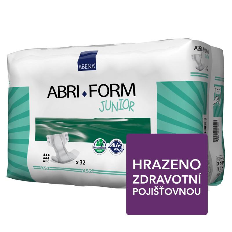 Abena Abri Form XS2 Junior 32ks + Dárek přebalovací ECO podložka 40x60cm