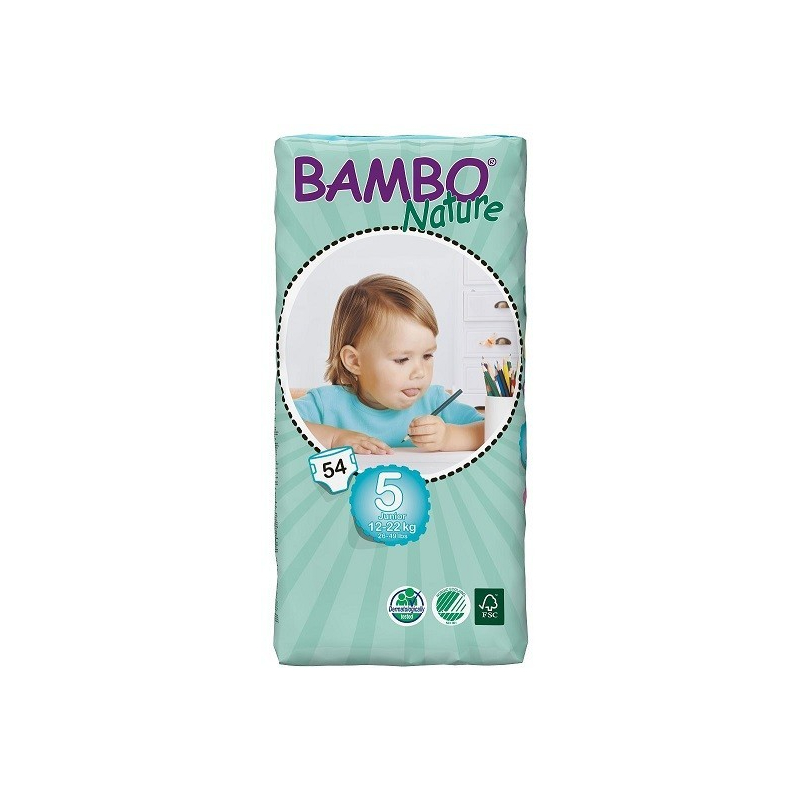 ABENA A.S. BAMBO Nature Junior plen.k. 12-22kg 54ks