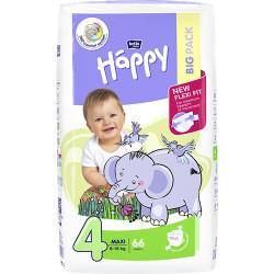 Bella Happy 4 Maxi 8-18 kg 66 ks