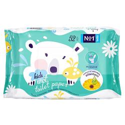 Bella No1 dětský vlhčený toaletní papír, 52 ks