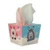 Dětské tahací papírové kapesníky 80 ks, králíček