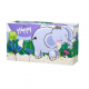 Bella Happy tahací kapesníky 150 ks, vzor slon
