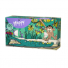 Bella Happy tahací kapesníky 150 ks, vzor opice
