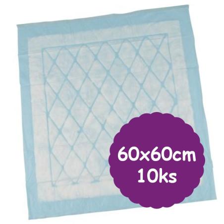 Přebalovací podložky 60x60cm ECO, 10ks, jednorázové