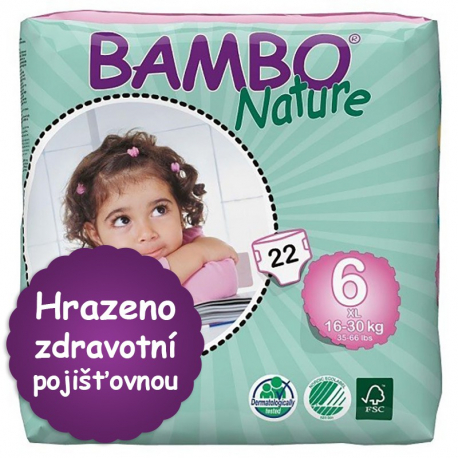 Bambo Nature 6 XL 16-30kg, 22ks